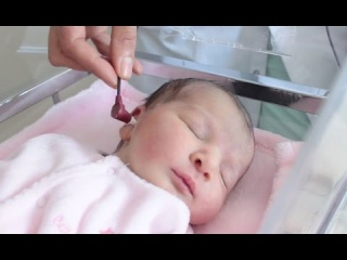 Embedded thumbnail for Dépistage auditif neonatal
